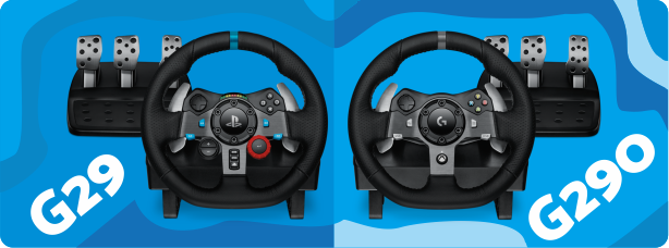 Logitech G29 and G290 Review & Download