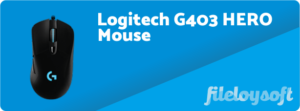 Logitech G403 HERO Software