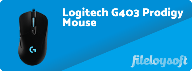 Logitech G403 Prodigy Software