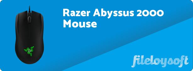 Razer Abyssus 2000 Software