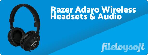 Razer Adaro Wireless Driver, Software, Manual, Download
