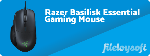 Razer Basilisk Essential Software, Drivers, Download for Windows, Mac