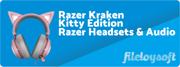 Razer Kraken Kitty Edition Driver, Software, Manual, Download