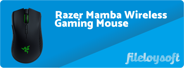 Razer Mamba Wireless Software, Drivers, Download for Windows, Mac