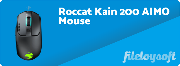 Roccat Kain 200 AIMO Driver, Software