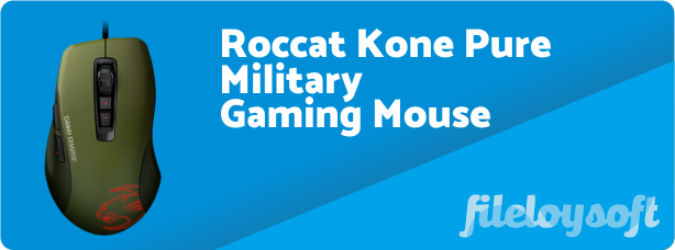 Roccat Kone Pure Military Driver, Software