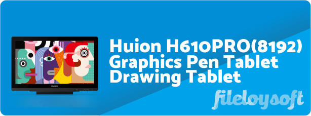 Huion KAMVAS GT-191 V2 Driver, User Manual, Firmware Download