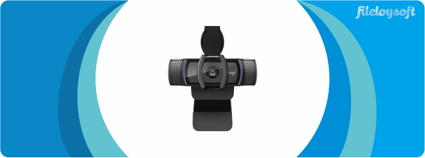 Logitech C920s HD PRO WEBCAM Driver, Software, Download